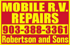 Robertson and Sons Mobile RV Repair - Texas